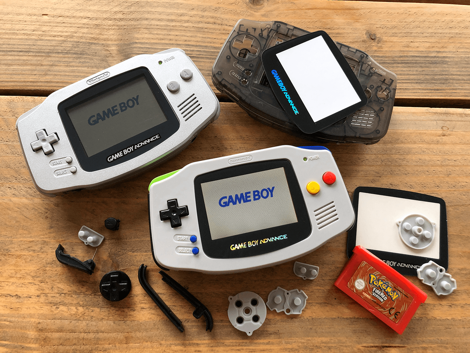 Custom Gameboy Advance Bouwen